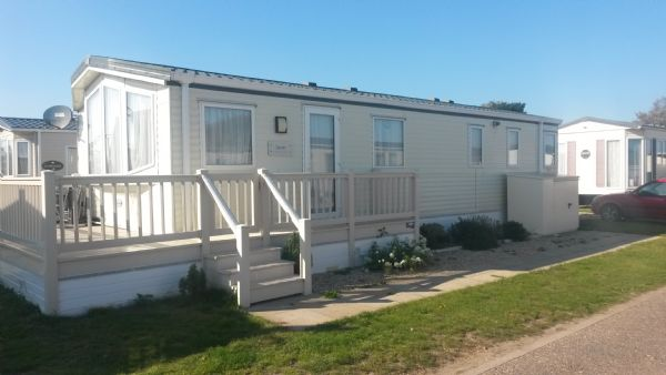 Private static caravan rental image from Suffolk Sands Holiday Park, Felixstowe, Suffolk