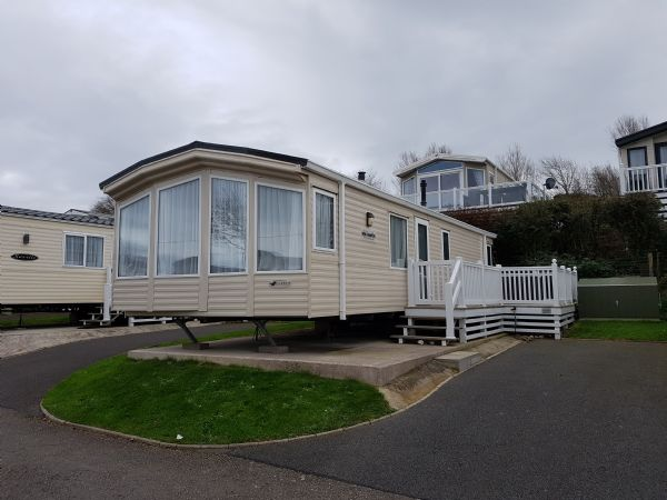 Private static caravan rental image from Waterside Holiday Park Dorset, Weymouth, Dorset