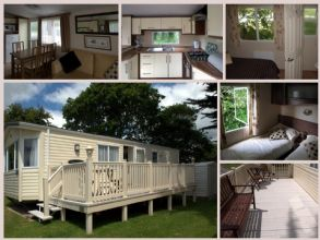 Private static caravan rental image from Looe Bay Holiday Park, Looe, Cornwall