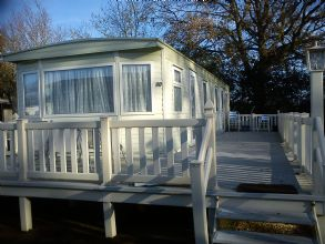 Private static caravan rental image from Hoburne Bashley Park, New Milton, Hampshire