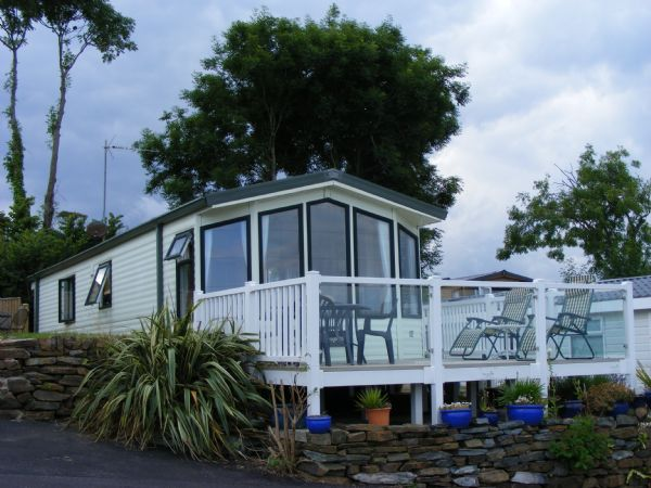 Private static caravan rental image from Ladram Bay Holiday Park, Budleigh Salterton, Devon