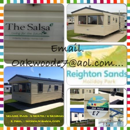 Private static caravan rental image from Reighton Sands Holiday Park, Scarborough, Yorkshire
