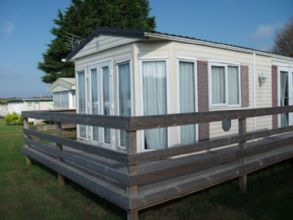 Private static caravan rental image from Maribou Holiday Park, Padstow, Cornwall