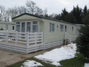 Private static caravan rental image from Woodlands Hall Holiday Park, Ruthin, Denbighshire