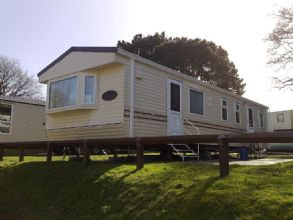 Private static caravan rental image from Rockley Park Holiday Park, Poole, Dorset