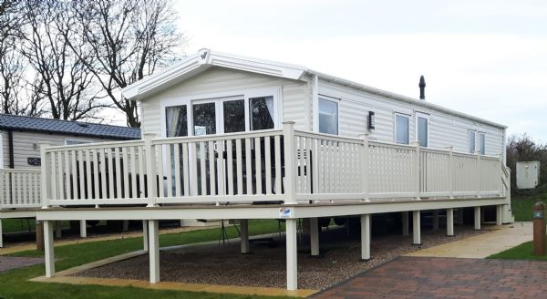 Private static caravan rental image from Blue Dolphin Holiday Park, Filey, Yorkshire