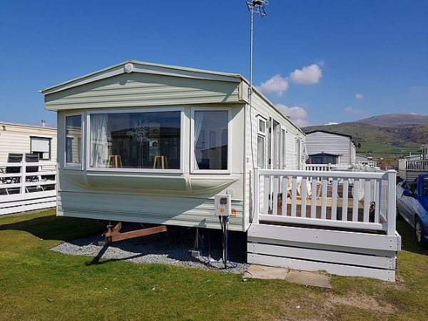 Private static caravan rental image from Sunnysands Caravan Park, Talybont, Barmouth, Gwynedd