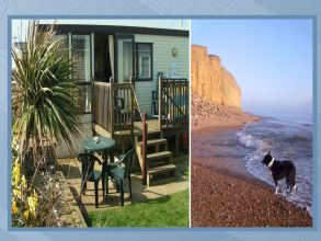 Private static caravan rental image from Freshwater Beach Holiday Park, Bridport, Dorset