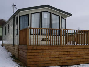 Private static caravan rental image from Clea Hall, Westward, Wigton, Cumbria