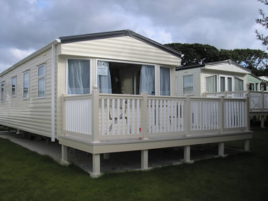 Private static caravan rental image from White Acres Country Park, Newquay, Cornwall