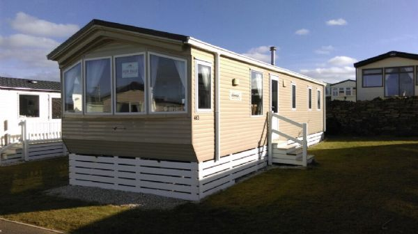 Private static caravan rental image from Mother Iveys Bay Caravan Park, Padstow, Cornwall