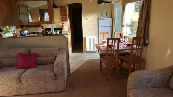 Private static caravan rental image from Hopton Holiday Village, Great Yarmouth, Norfolk